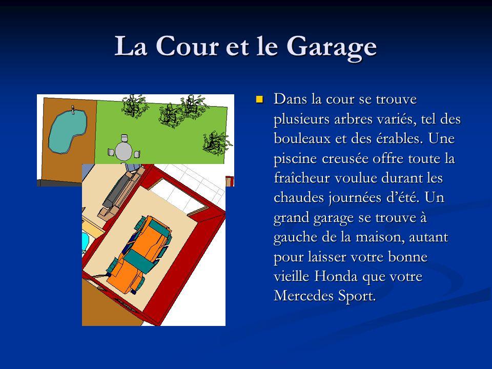 La Cour et le Garage