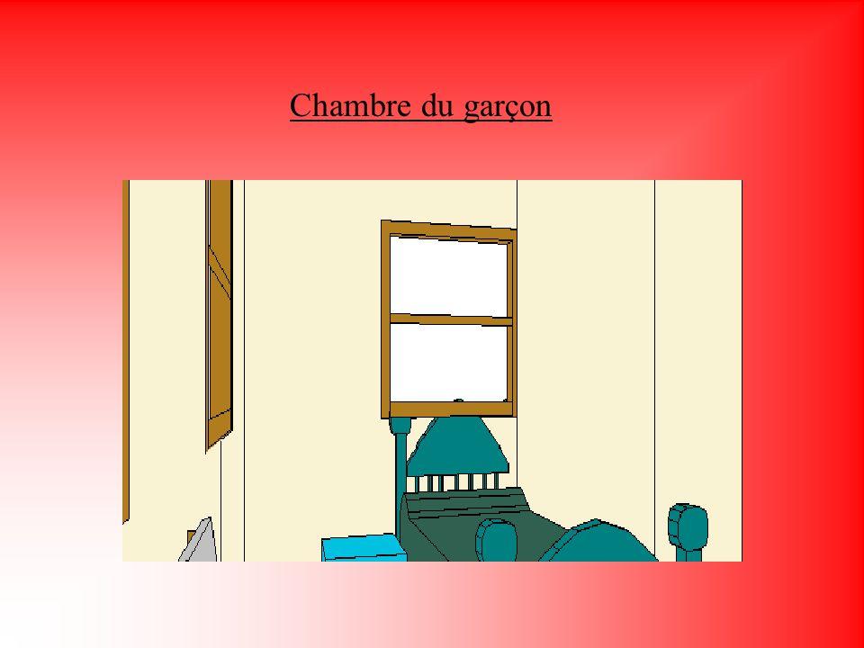 Chambre du garçon