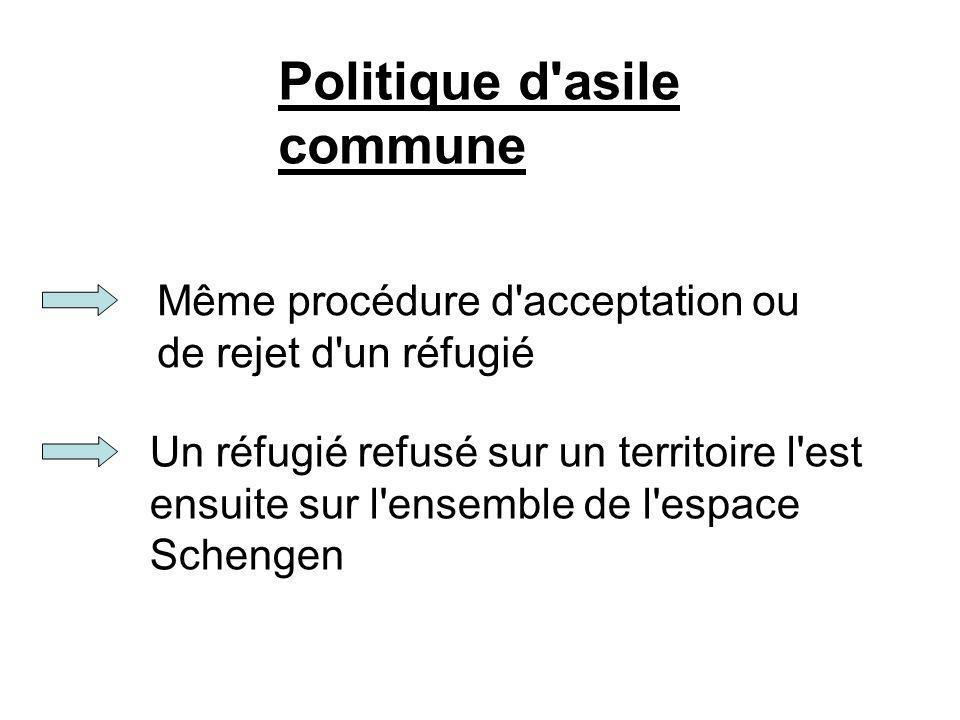 Politique d asile commune