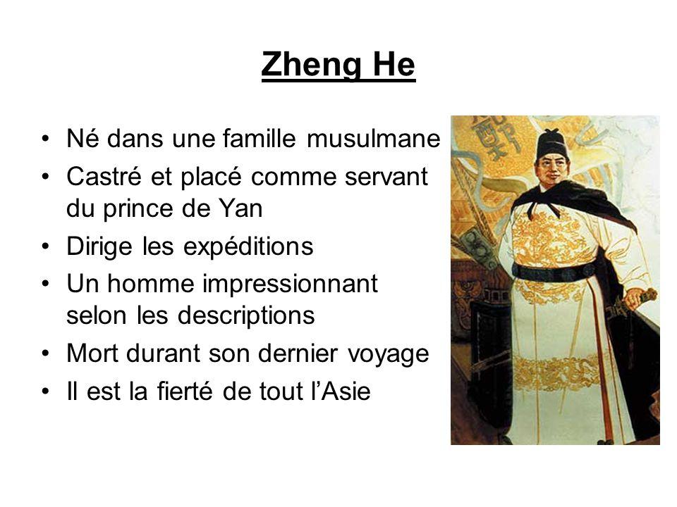 Zheng He Né dans une famille musulmane
