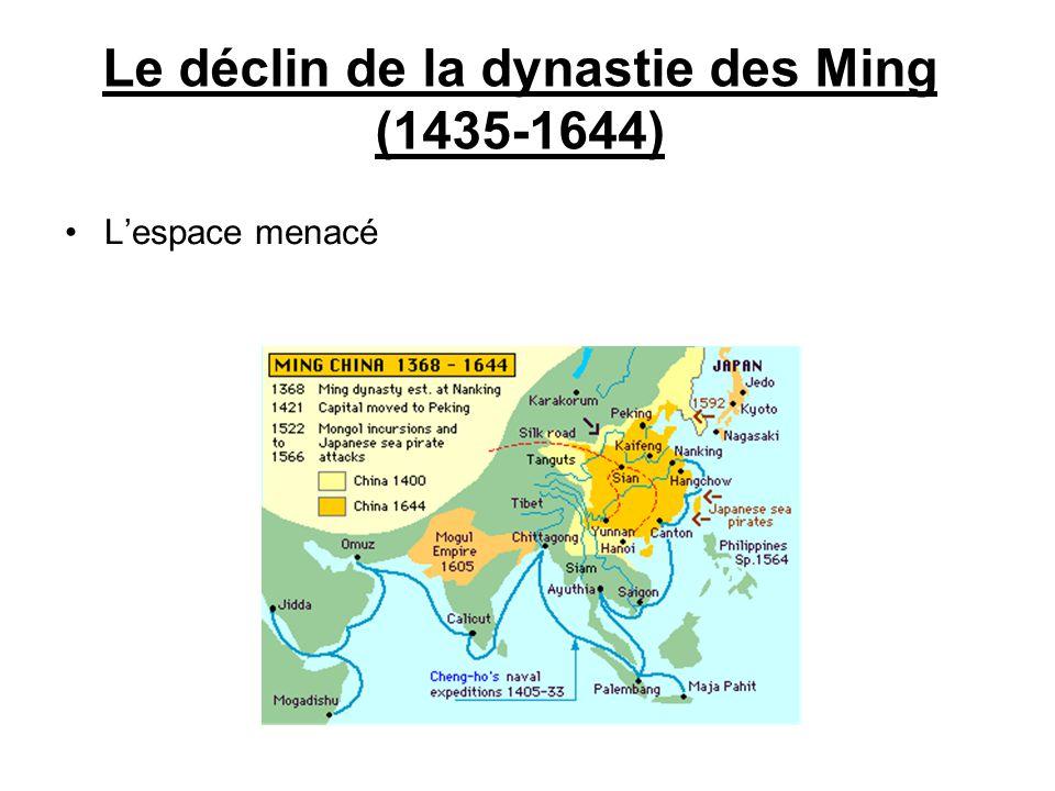 Le déclin de la dynastie des Ming (1435-1644)