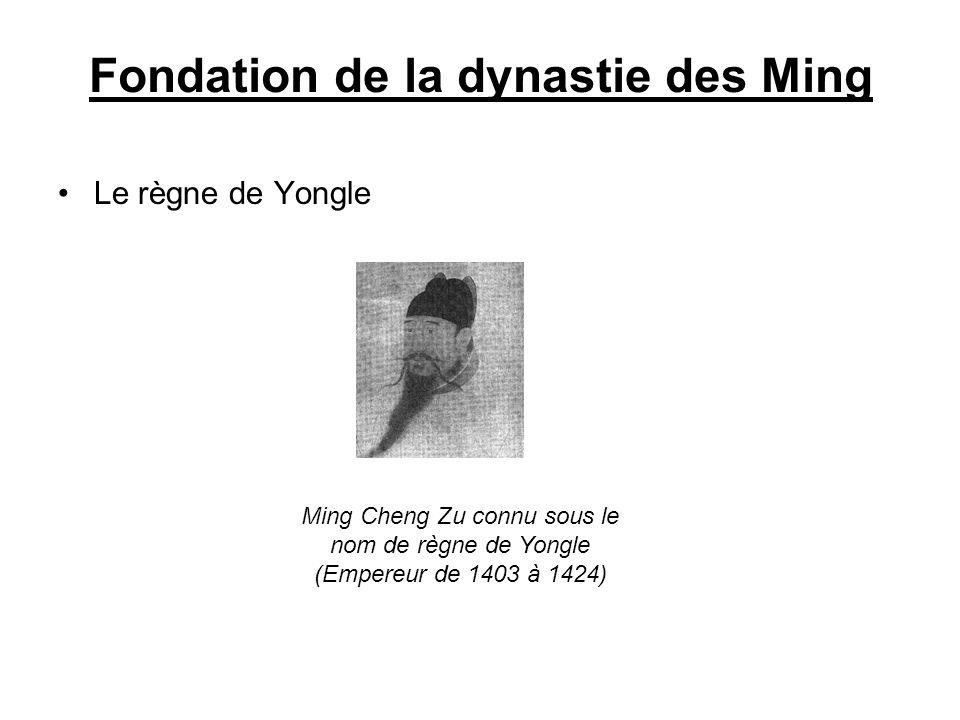 Fondation de la dynastie des Ming