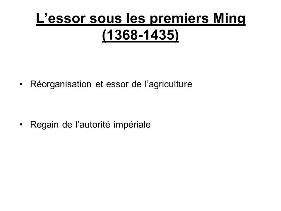 L'essor sous les premiers Ming (1368-1435)