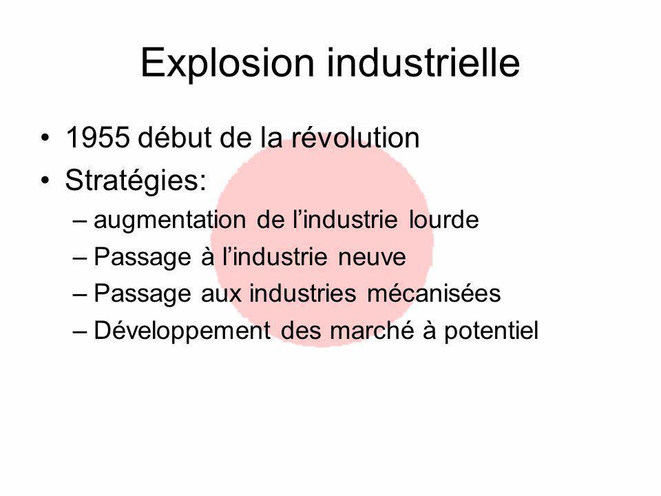 Explosion industrielle