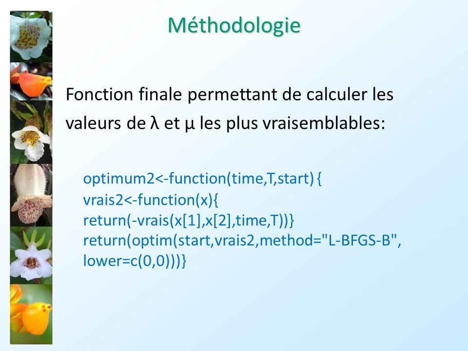 Méthodologie optimum2<-function(time,T,start) {