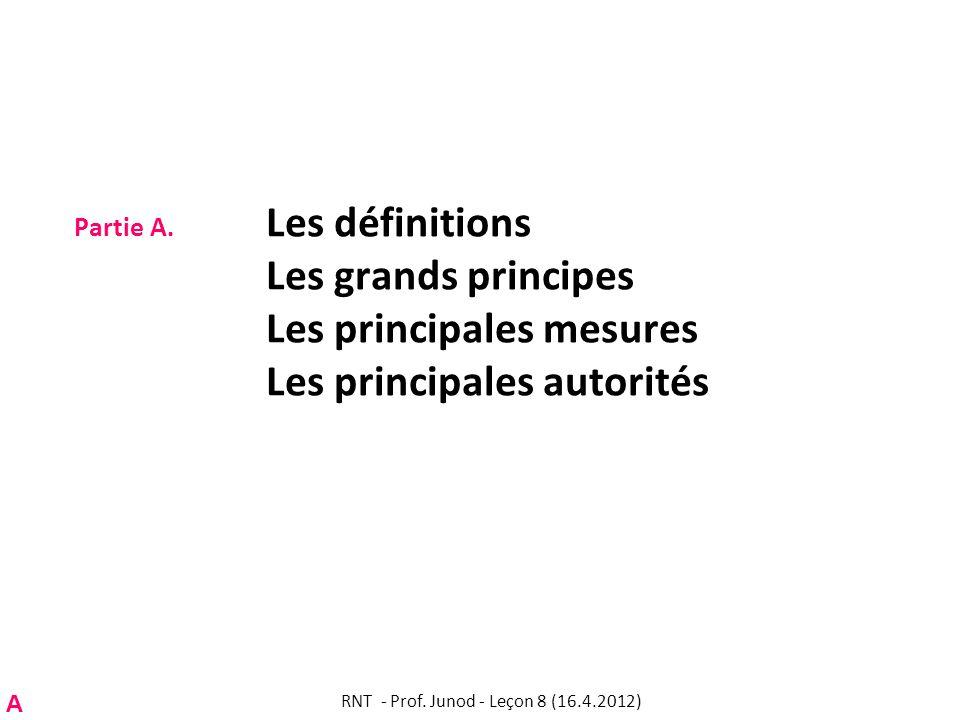 RNT - Prof. Junod - Leçon 8 (16.4.2012)