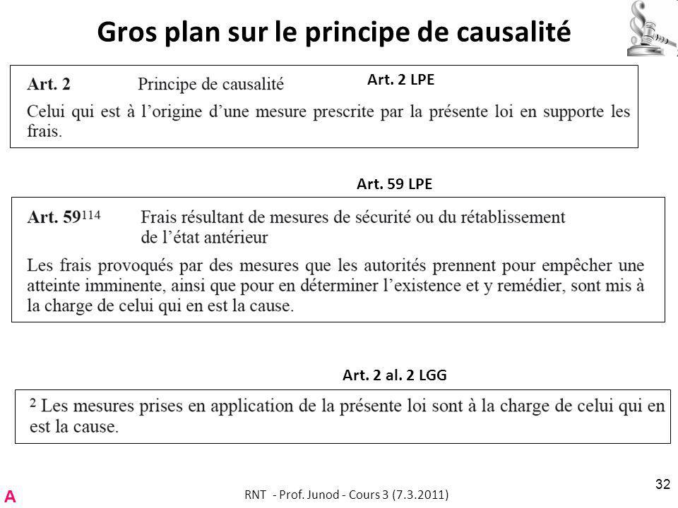 Gros plan sur le principe de causalité
