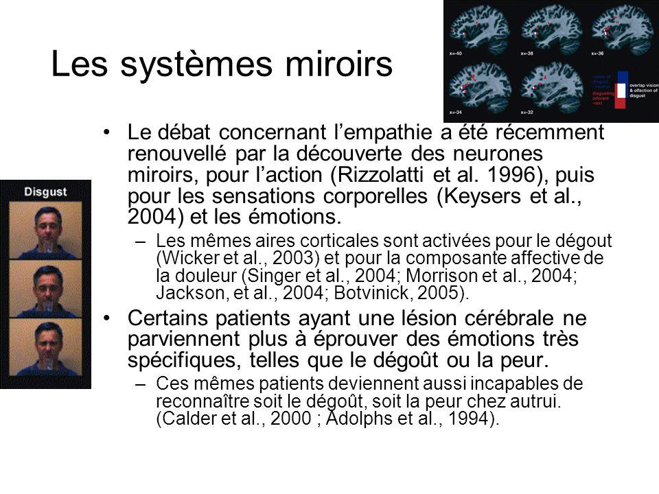Les systèmes miroirs