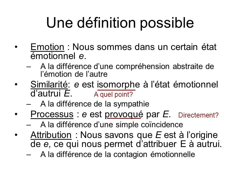 Une définition possible