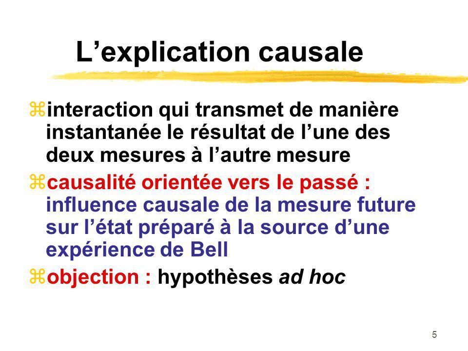 L'explication causale