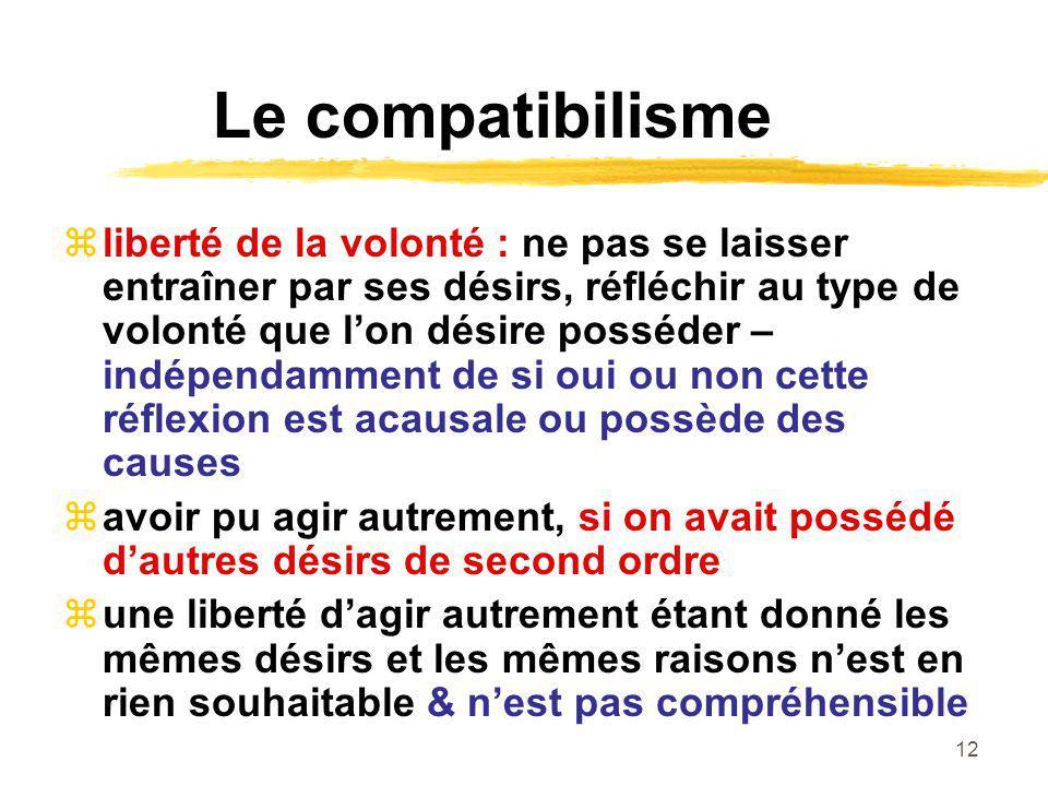 Le compatibilisme