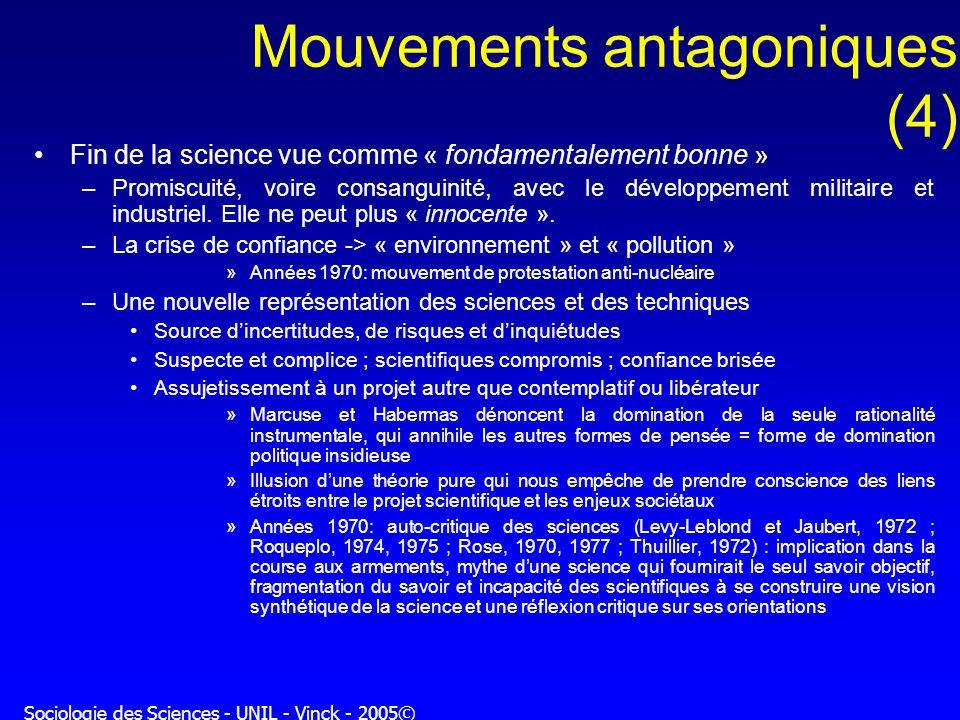 Mouvements antagoniques (4)