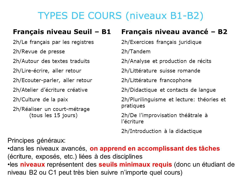 EXEMPLE: RÉALISER UN COURT MÉTRAGE UNE AUTRE APPROCHE DE LA LANGUE (B1)