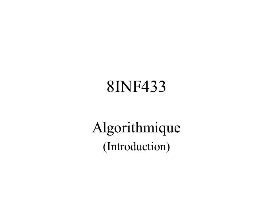 Algorithmique (Introduction)
