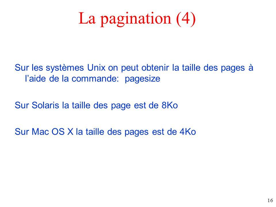 La pagination (4)