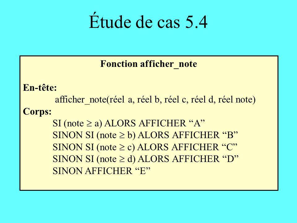 Fonction afficher_note