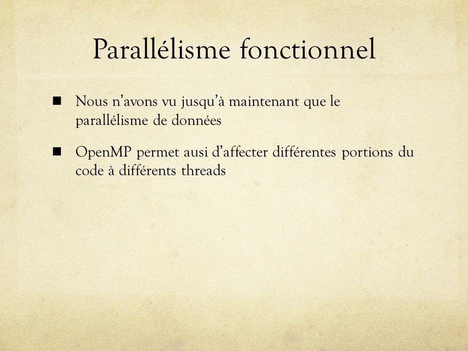 Parallélisme fonctionnel