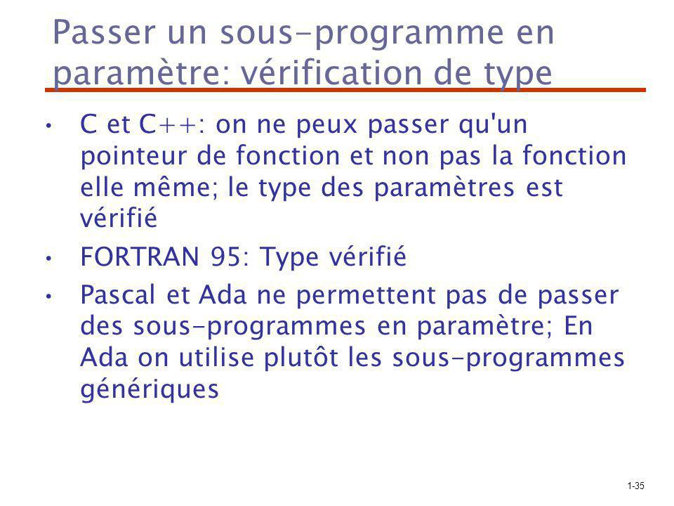 Passer un sous-programme en paramètre: vérification de type