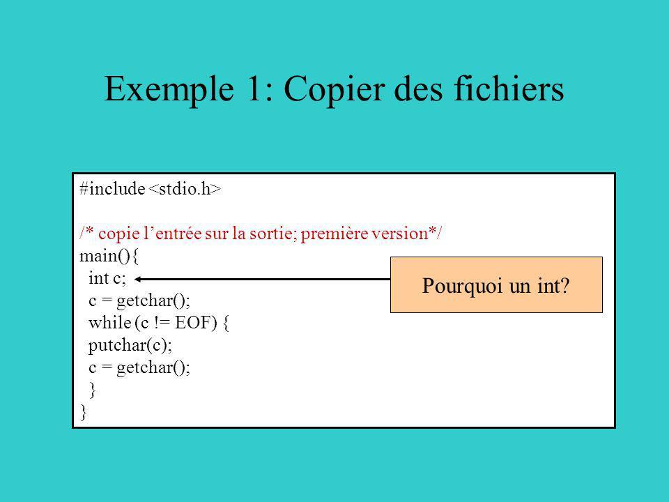 Exemple 1: Copier des fichiers