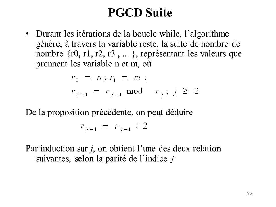 PGCD Suite