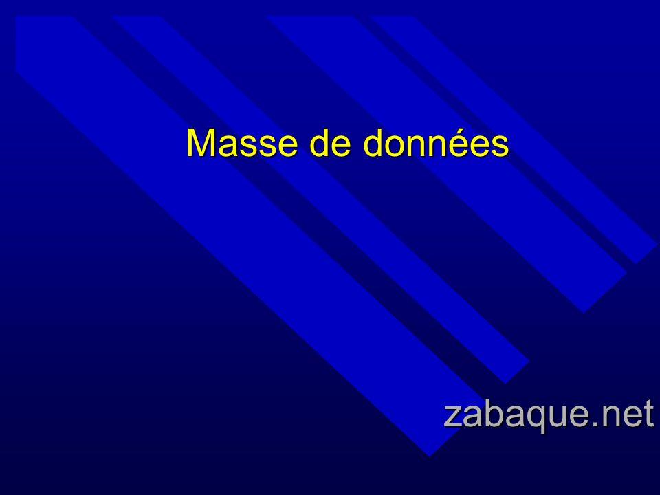 Masse de données zabaque.net