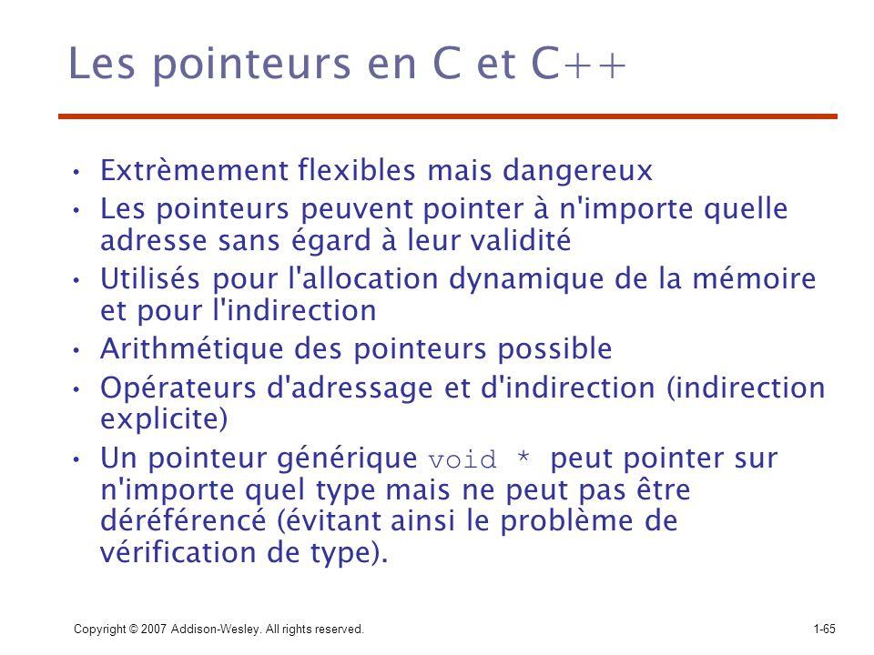 Les pointeurs en C et C++