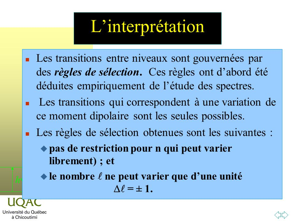 L'interprétation