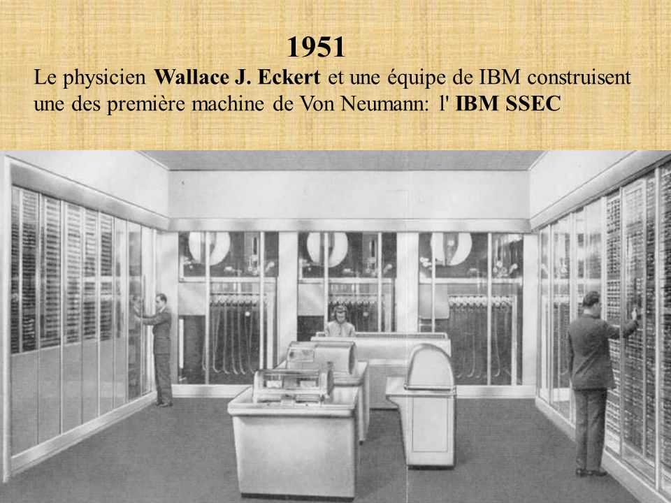 1951 Le physicien Wallace J.