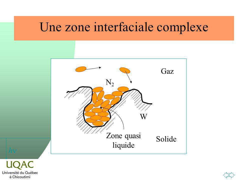 Une zone interfaciale complexe