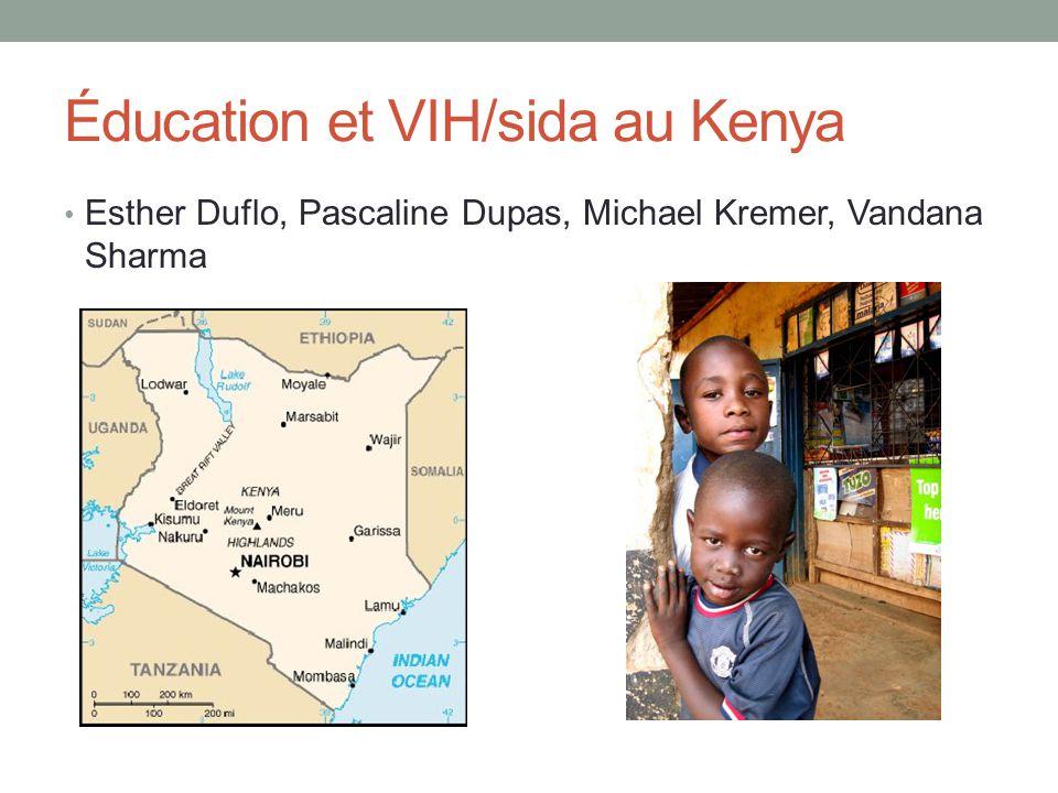 Éducation et VIH/sida au Kenya