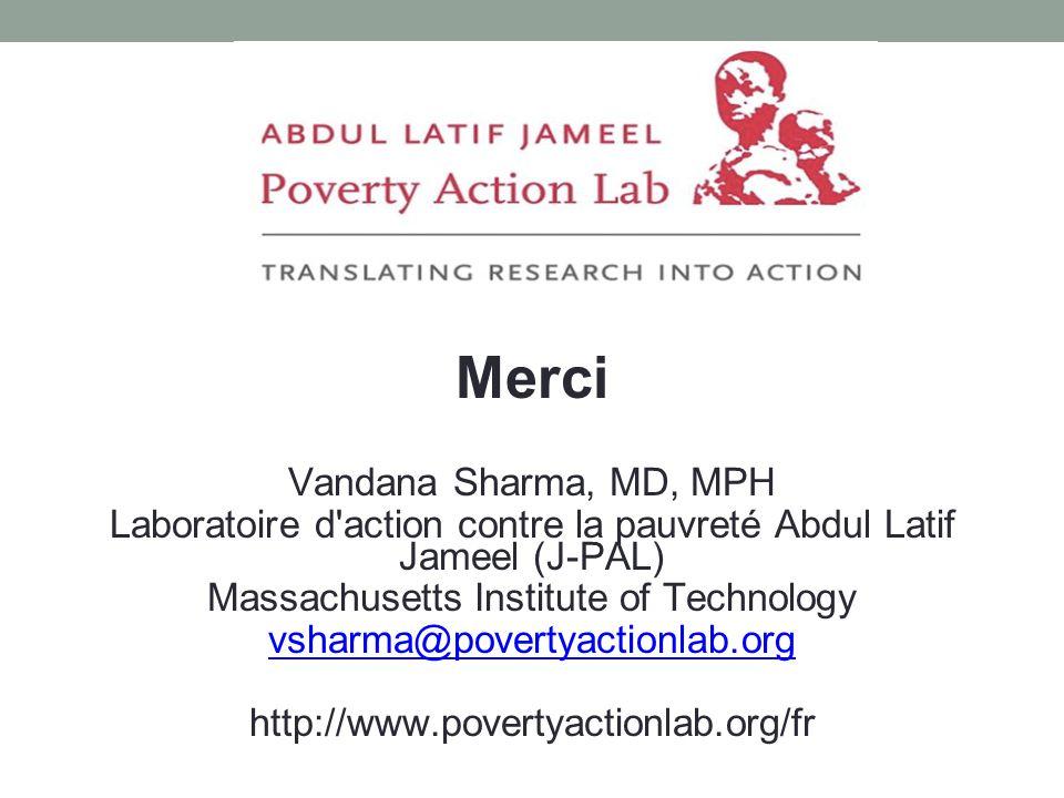 Merci Vandana Sharma, MD, MPH