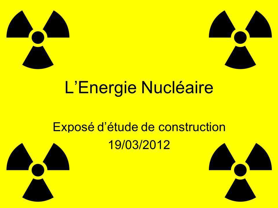 Exposé d'étude de construction 19/03/2012