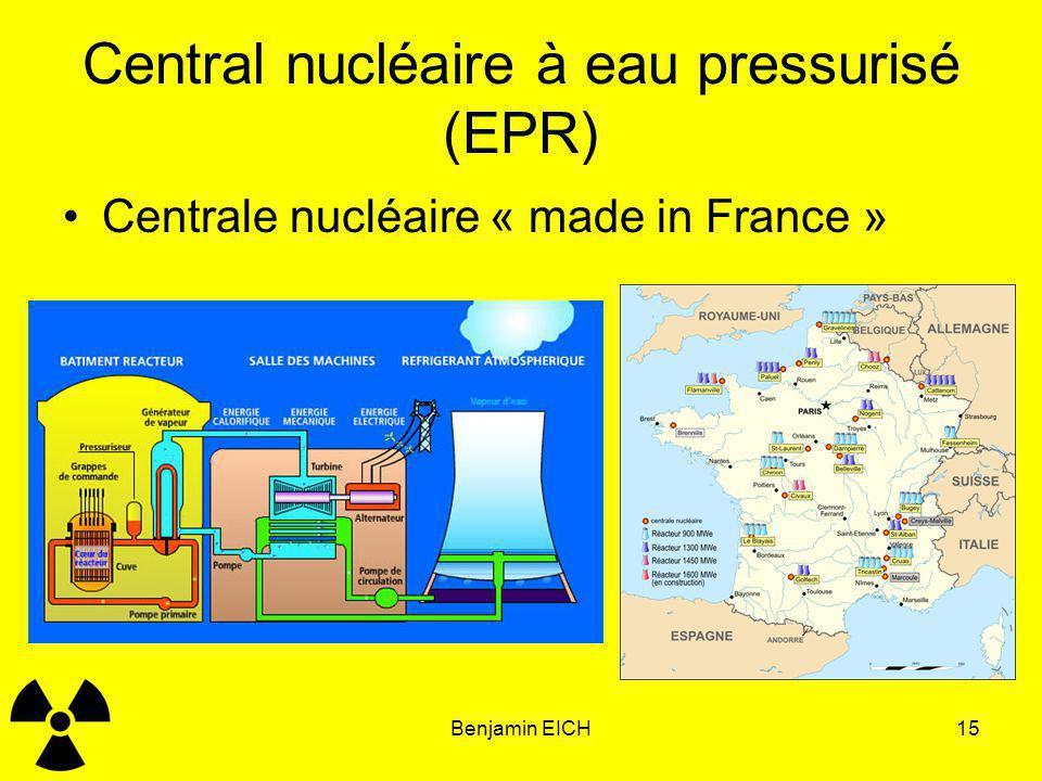 Central nucléaire à eau pressurisé (EPR)