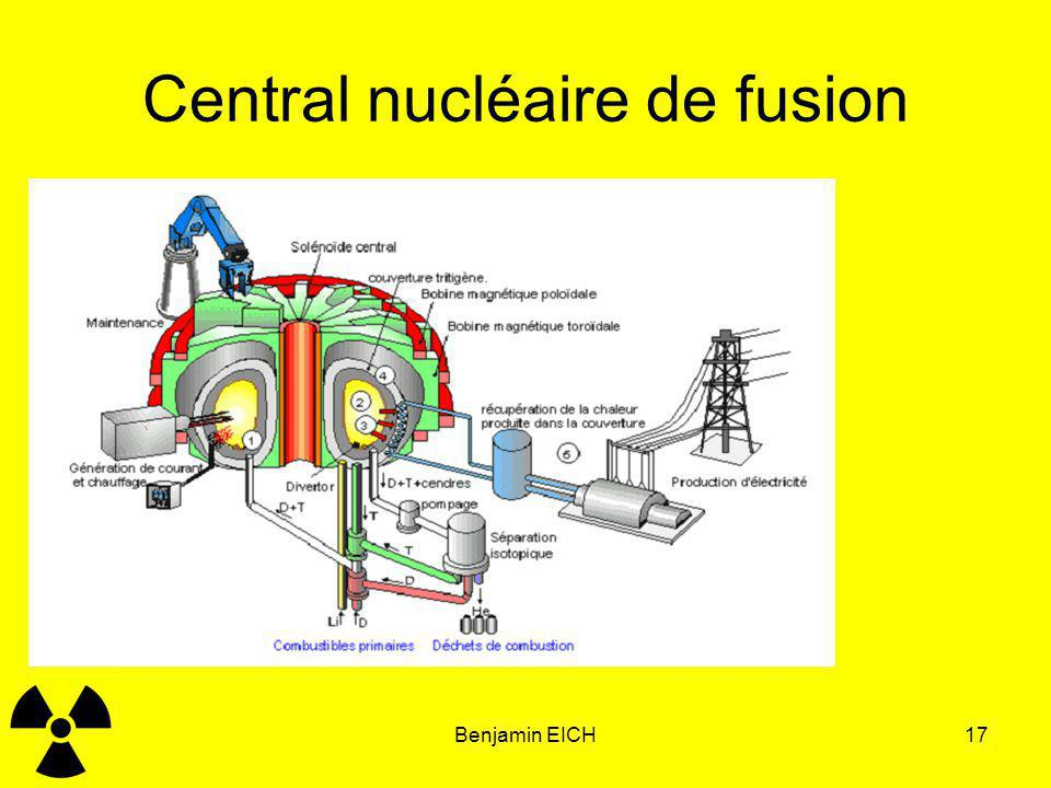 Central nucléaire de fusion