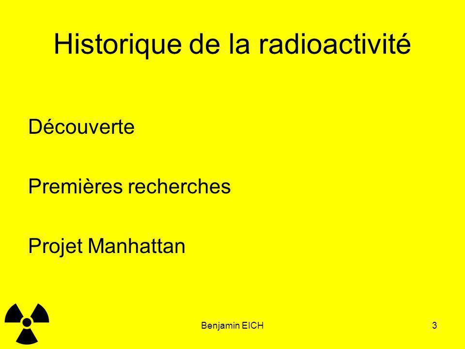 Historique de la radioactivité