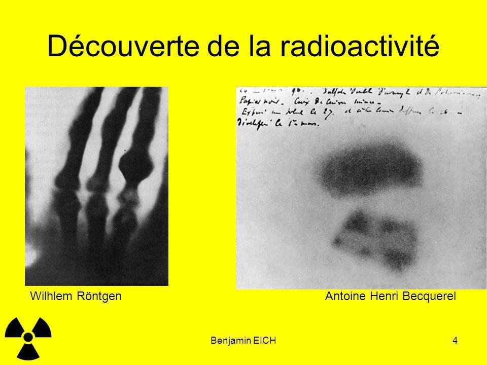 Découverte de la radioactivité