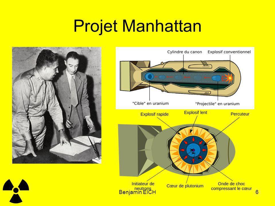 Projet Manhattan Benjamin EICH Benjamin EICH