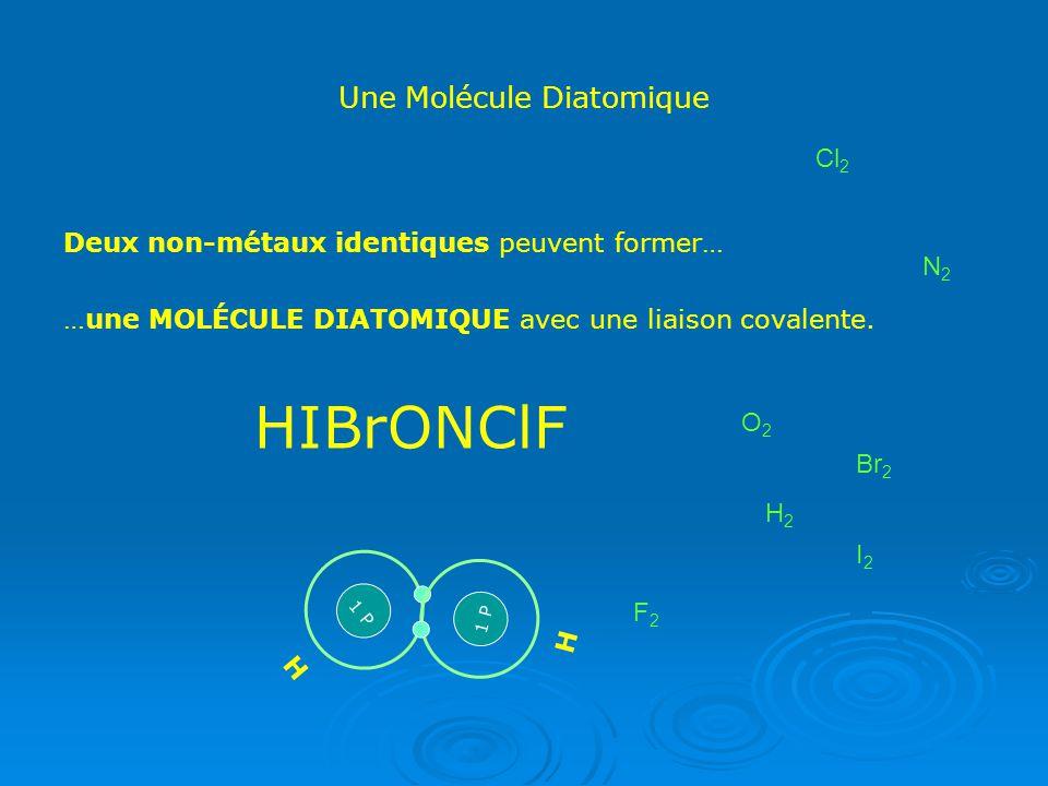 Une Molécule Diatomique