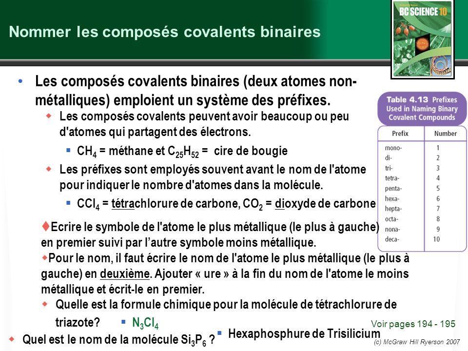 Nommer les composés covalents binaires