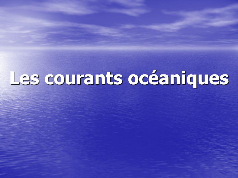 Les courants océaniques