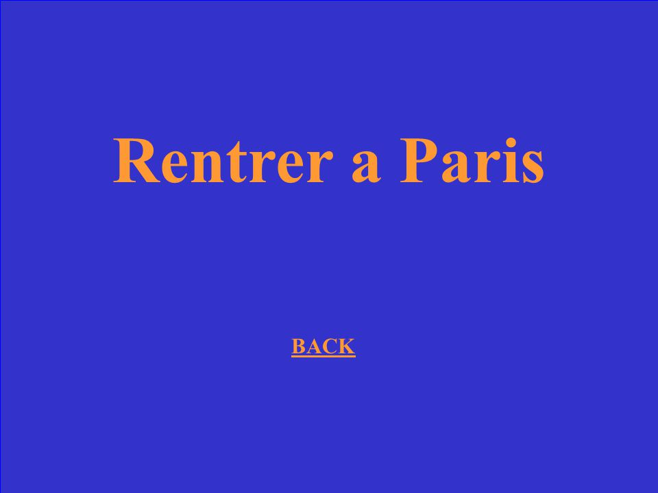 Rentrer a Paris BACK