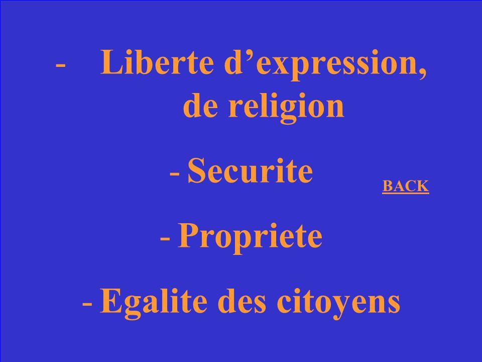Liberte d'expression, de religion