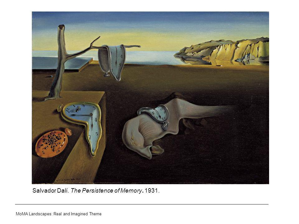 Salvador Dalí. The Persistence of Memory. 1931.