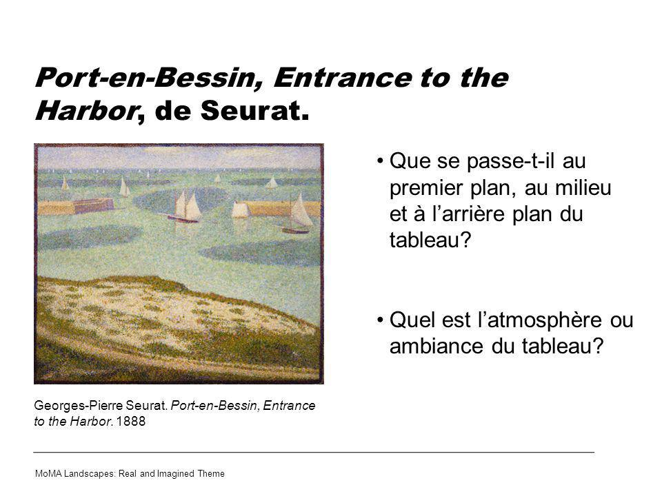 Port-en-Bessin, Entrance to the Harbor, de Seurat.