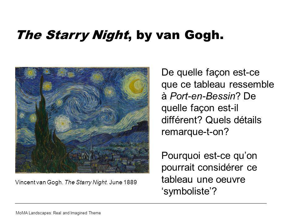 The Starry Night, by van Gogh.