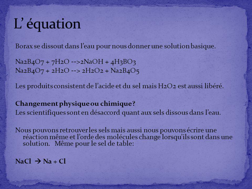 L' équation