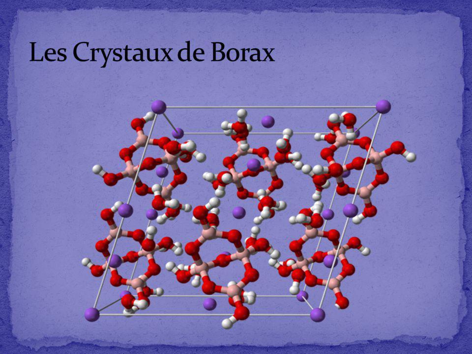 Les Crystaux de Borax