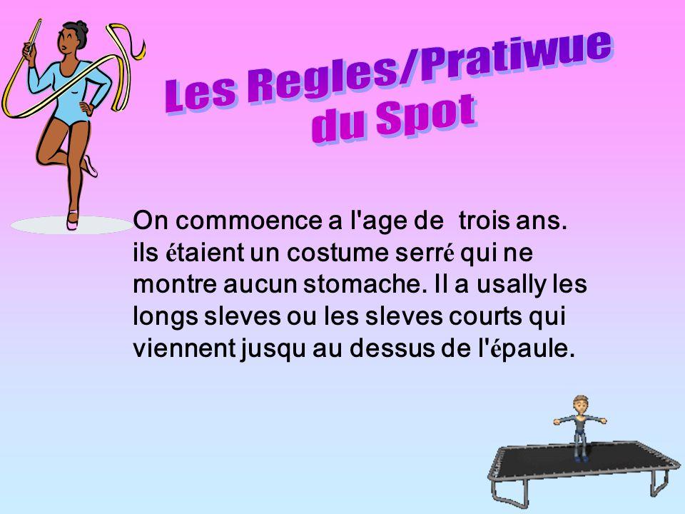 Les Regles/Pratiwue du Spot