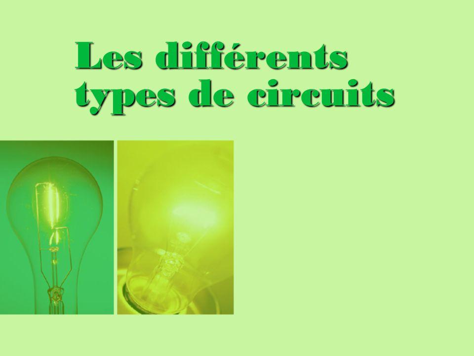 Les différents types de circuits