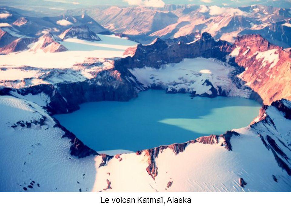 Le volcan Katmaï, Alaska